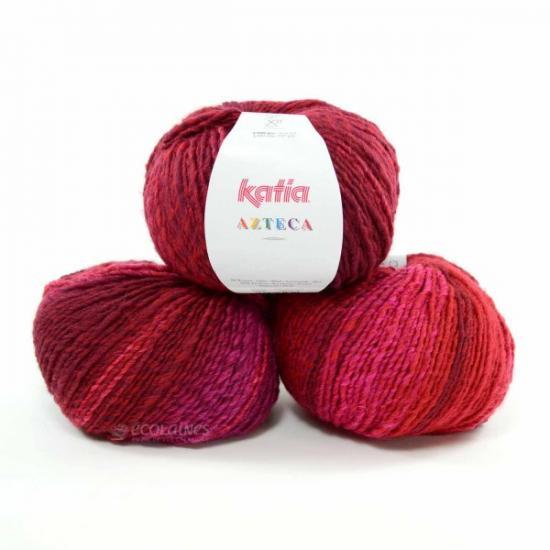Katia azteca rouge