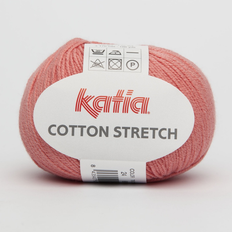 Katia coton stretch saumon