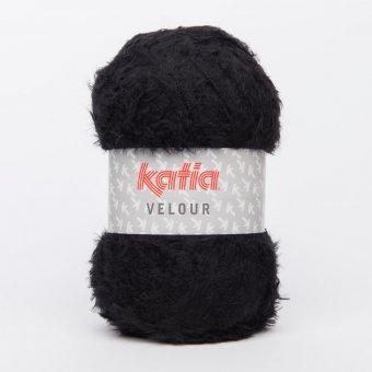 Katia velour noir