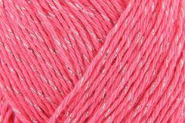 Rico essentials cotton lurex 4ply 004 fuchsia pink